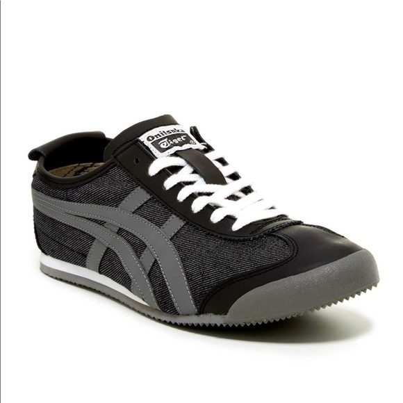 onitsuka tiger mexico 66 black and pink jacket mens